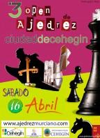 Cartel III Open de ajedrez Ciudad de Cehegin